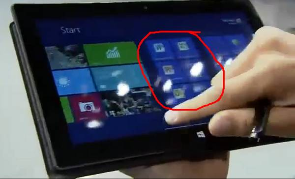 Surface Tablet mit Windows 8 RT und Microsoft Office 2013 RT