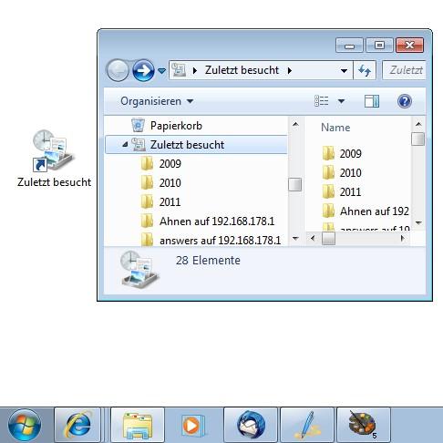 Desktop-Erweiterung