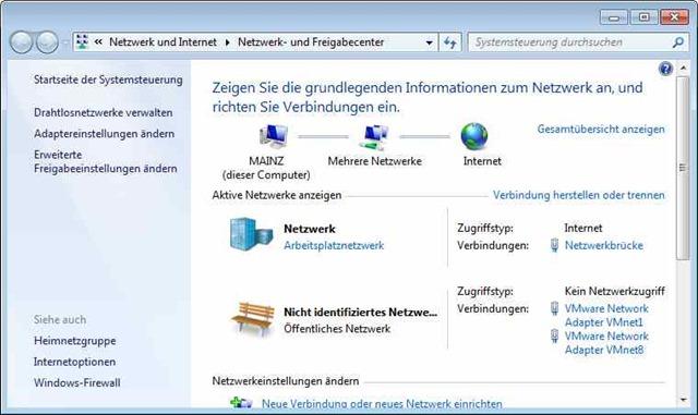 Nicht Identifiziertes Netzwerk Borns It Und Windows Blog