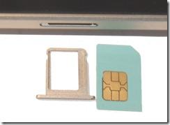 SIM-Einschub am iPad