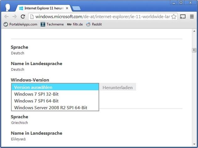 Internet Explorer 11 für Windows 7 freigegeben | Borns IT