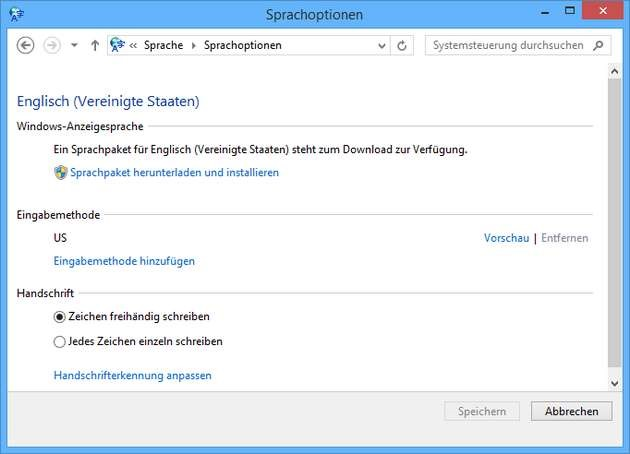 windows 8.1 sprachpaket