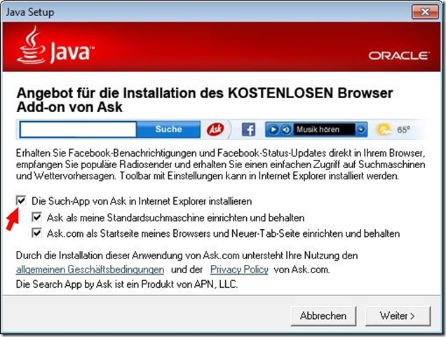 ASK-Toolbar