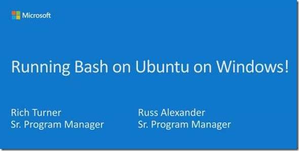 Microsoft is bashing on Ubuntu