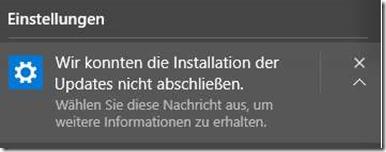 Update-Fehler