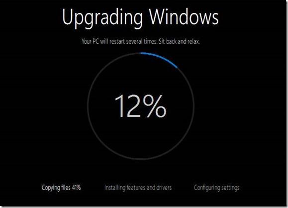 Dell Windows 10-Upgrade